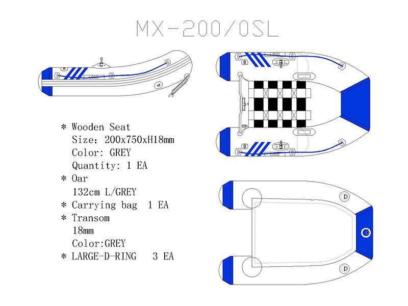 Gumenjak MX-200/0SL